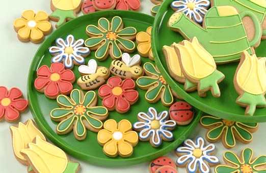 Wildflower Cookie Set from  Eleni's