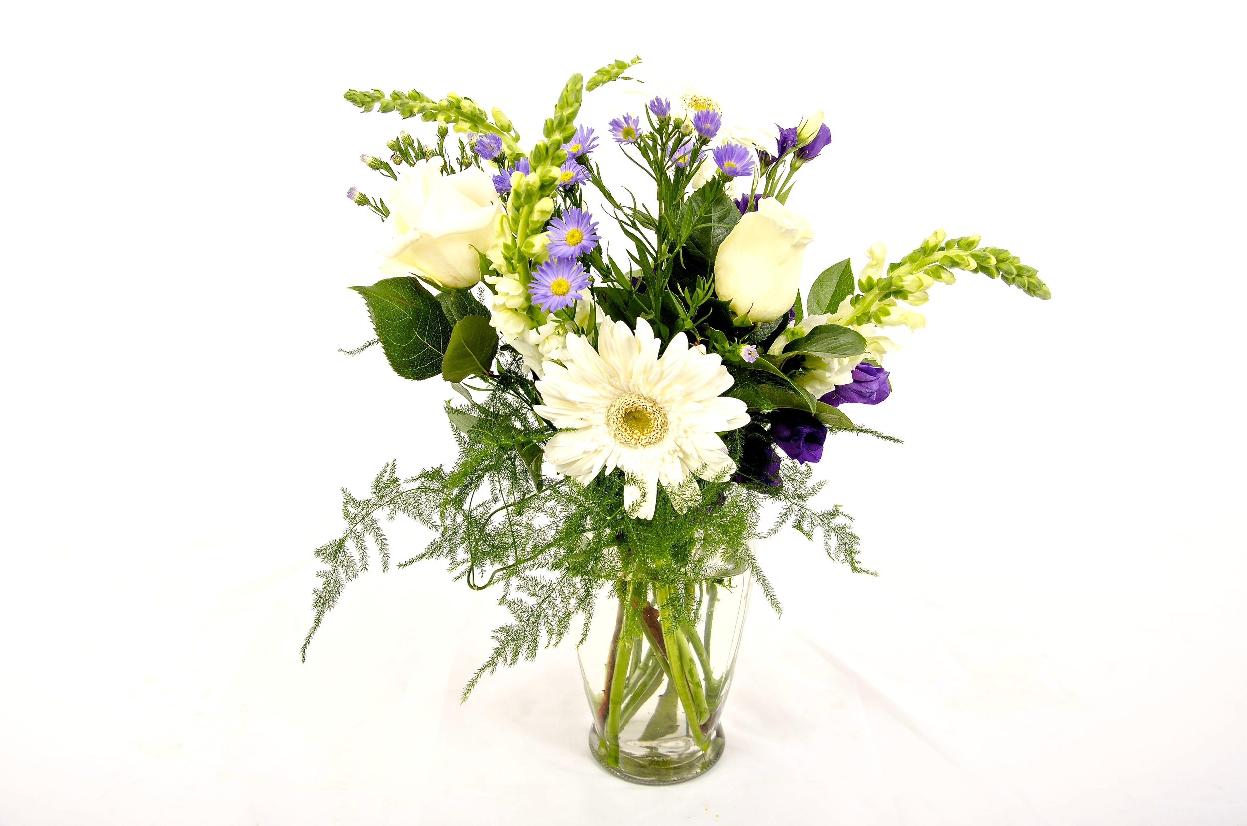 2 Purchased Bouquets