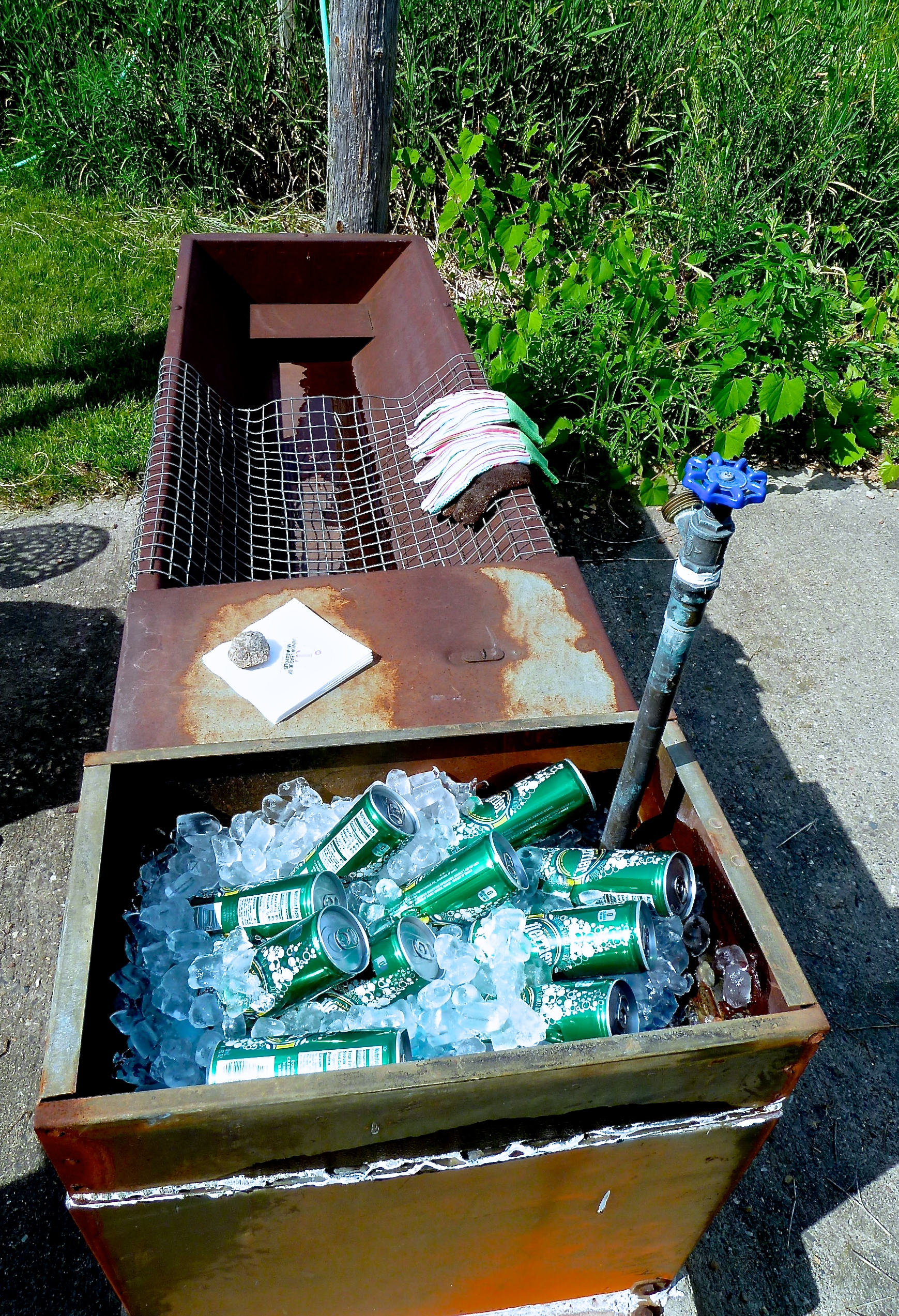 A Trough Full of Perrier