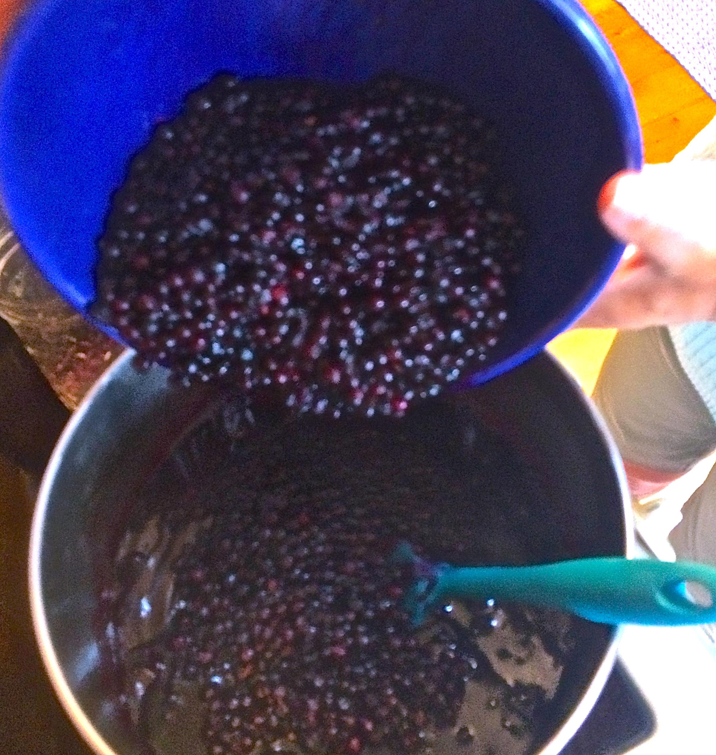 Keep adding berries...