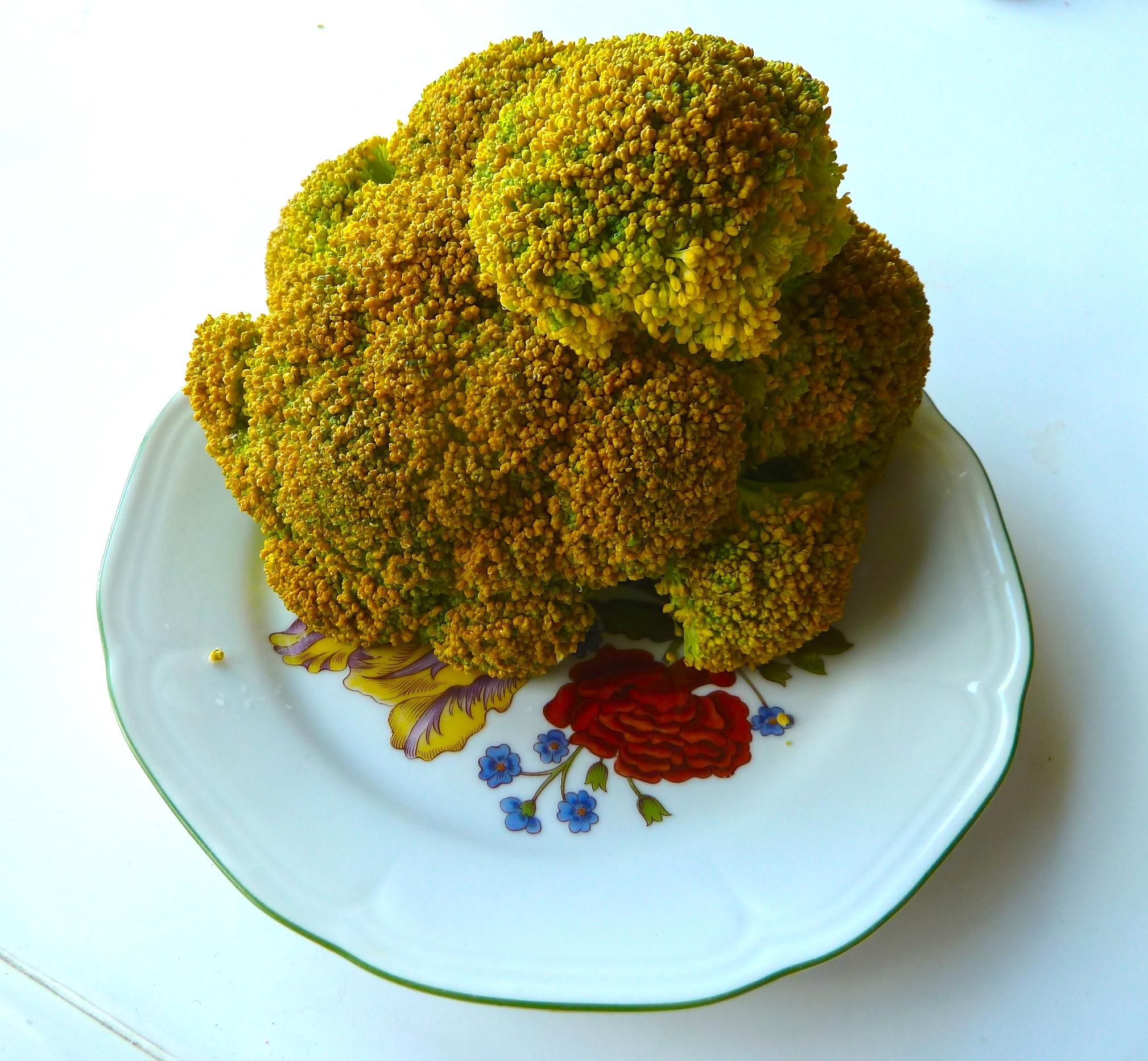 Even when the Broccoli is a bit yellow, it's still taste good!