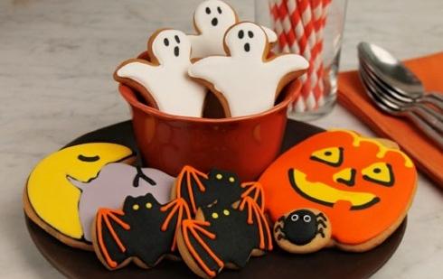 Jack O'Lantern Cookie Set
