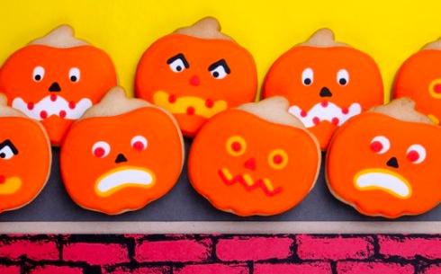 Silly Pumpkins Cookie Gift Set