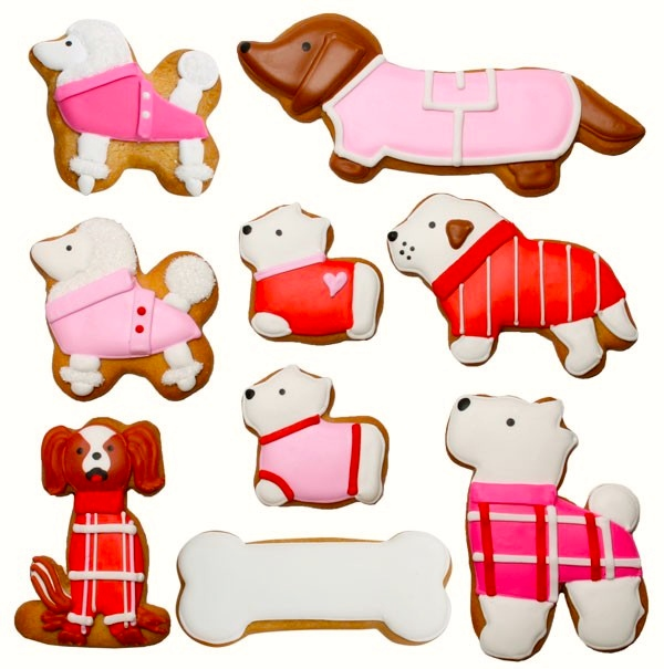 Puppy Love Cookie Gift Set