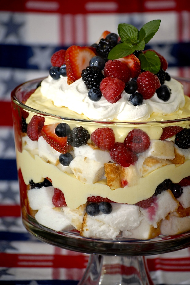 Becca Matheson, Tastemaker in Residence provides the perfect-  Patriotic Parfait