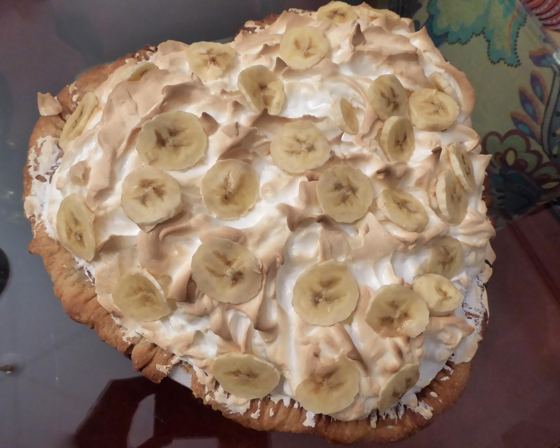 Cindi's Banana Cream Pie