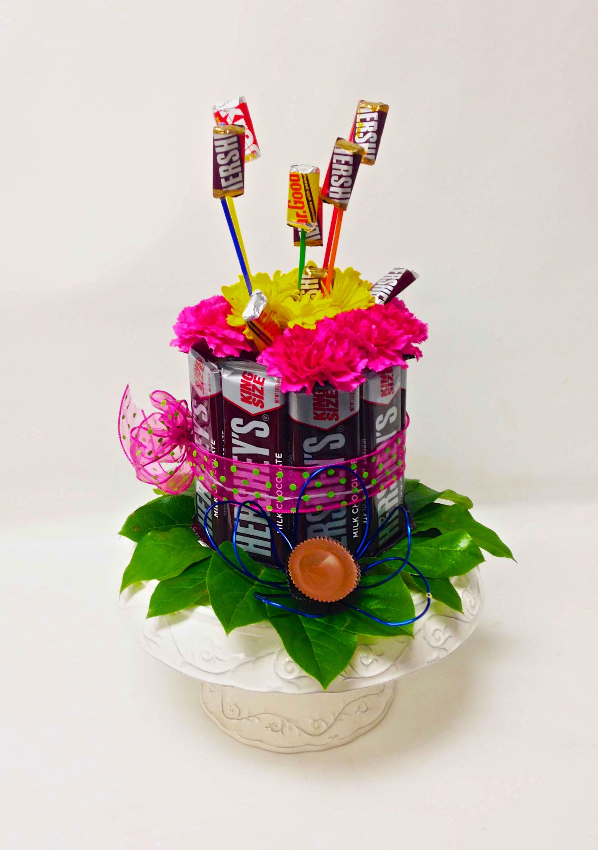 Hershey Cake Florals