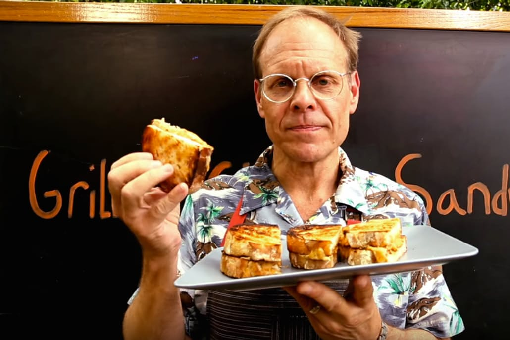 How to Make a Grilled Cheese like Alton Brown