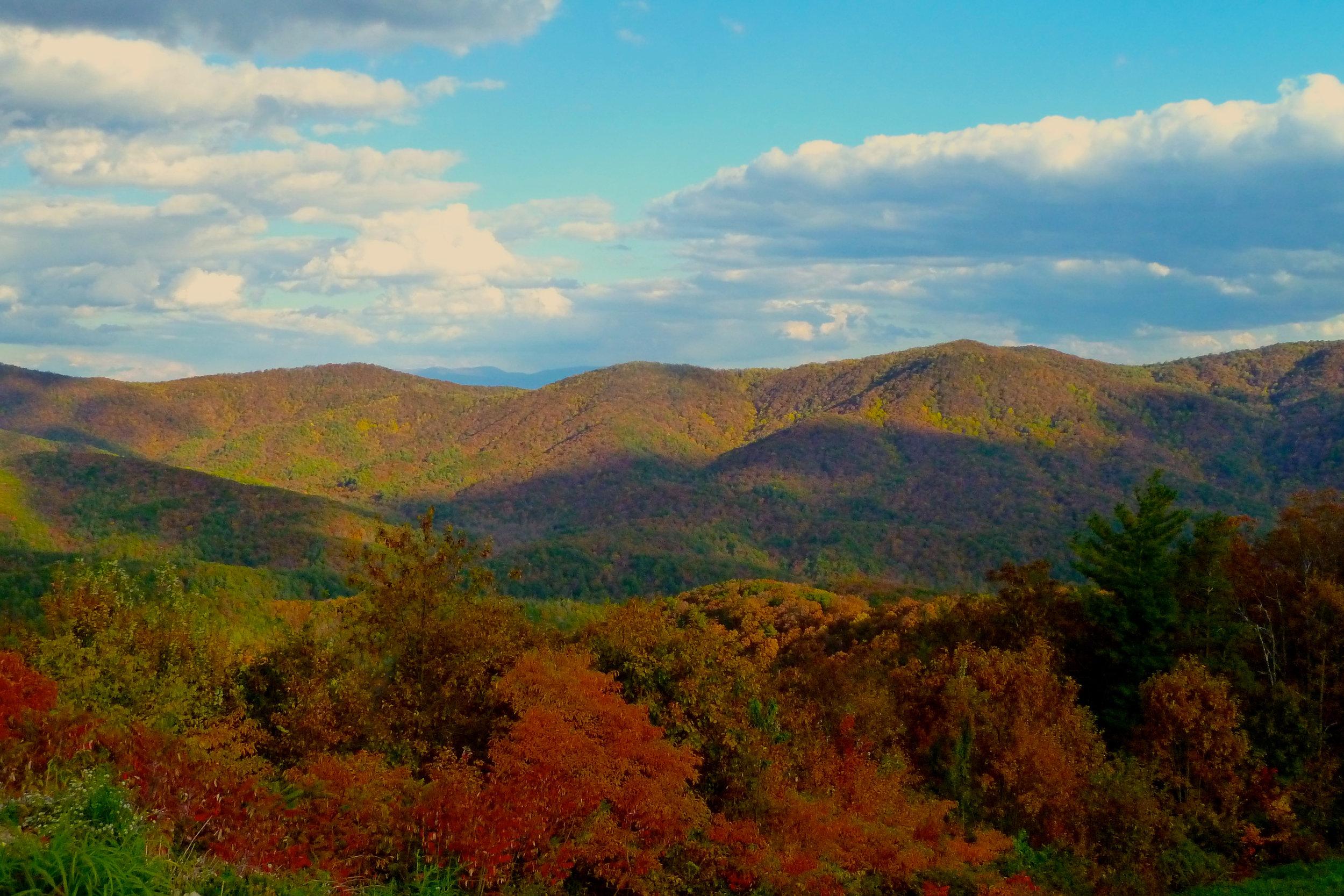 Blue Ridge Mountains-Blairsville, GA