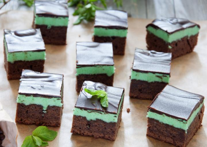 Peppermint Brownies. Photo by Letterberry/Getty Images