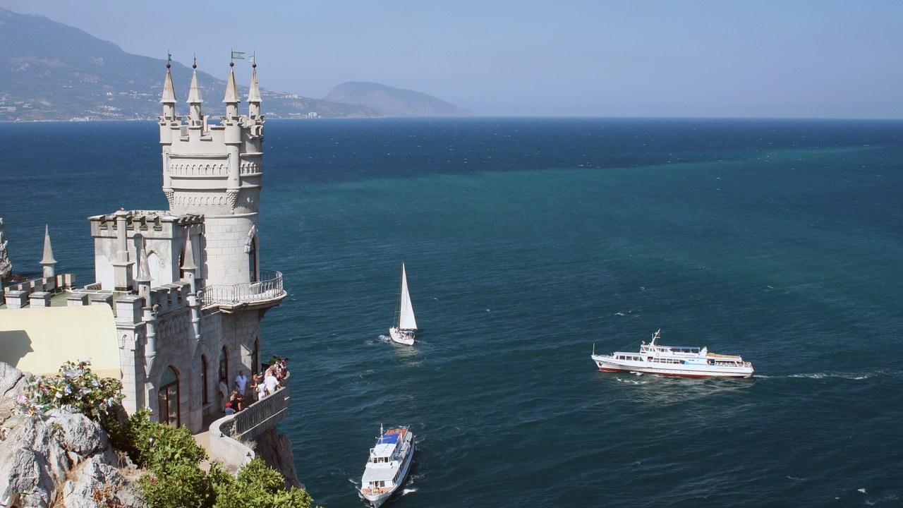 The castle Swallow's Nest near Yalta, Ukraine. Photo: Getty Images