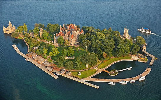New York state's Boldt Castle. Photo: National Geographic Image Collection/Alamy