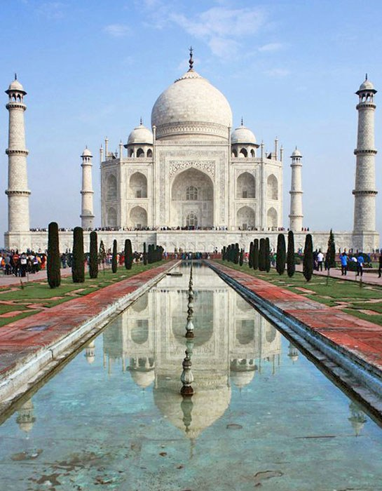 India's Taj Mahal. Photo: Melissa Maria