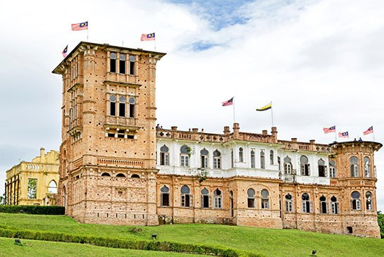 Kellie's Castle in Malaysia. Photo: Khim Hoe Ng/Alamy
