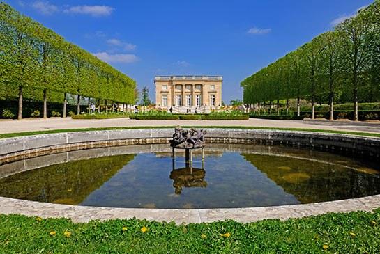 The Petit Trianon in France. Photo: Hemis/Alamy