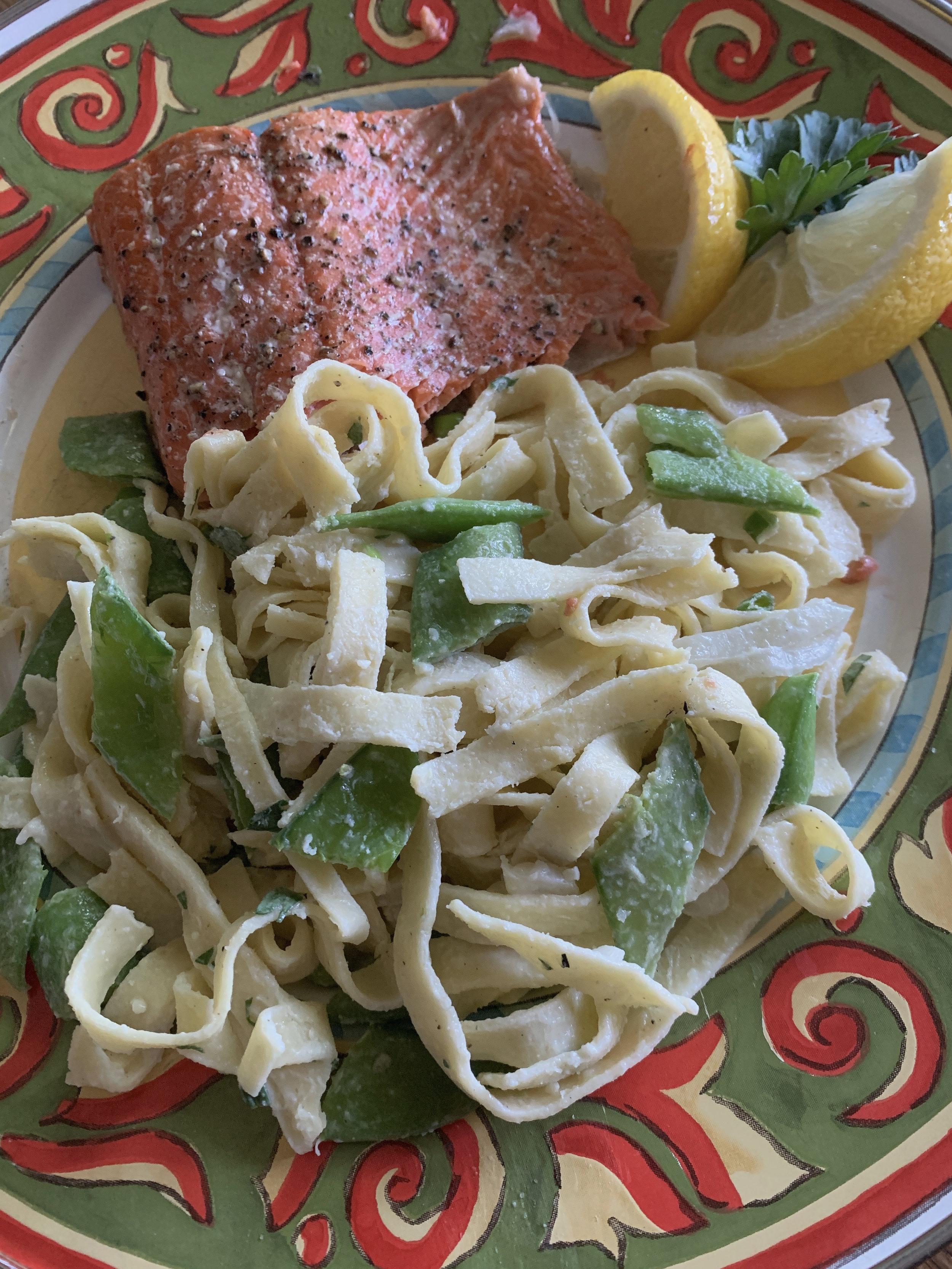 Vicki_pasta_snappeas_salmon_spiritedtable_photo1.jpg