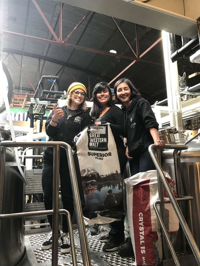 Dos Californias Brewsters is an international collaboration between Mexican and American female brewers |  Courtesy of Dos Californias Brewsters