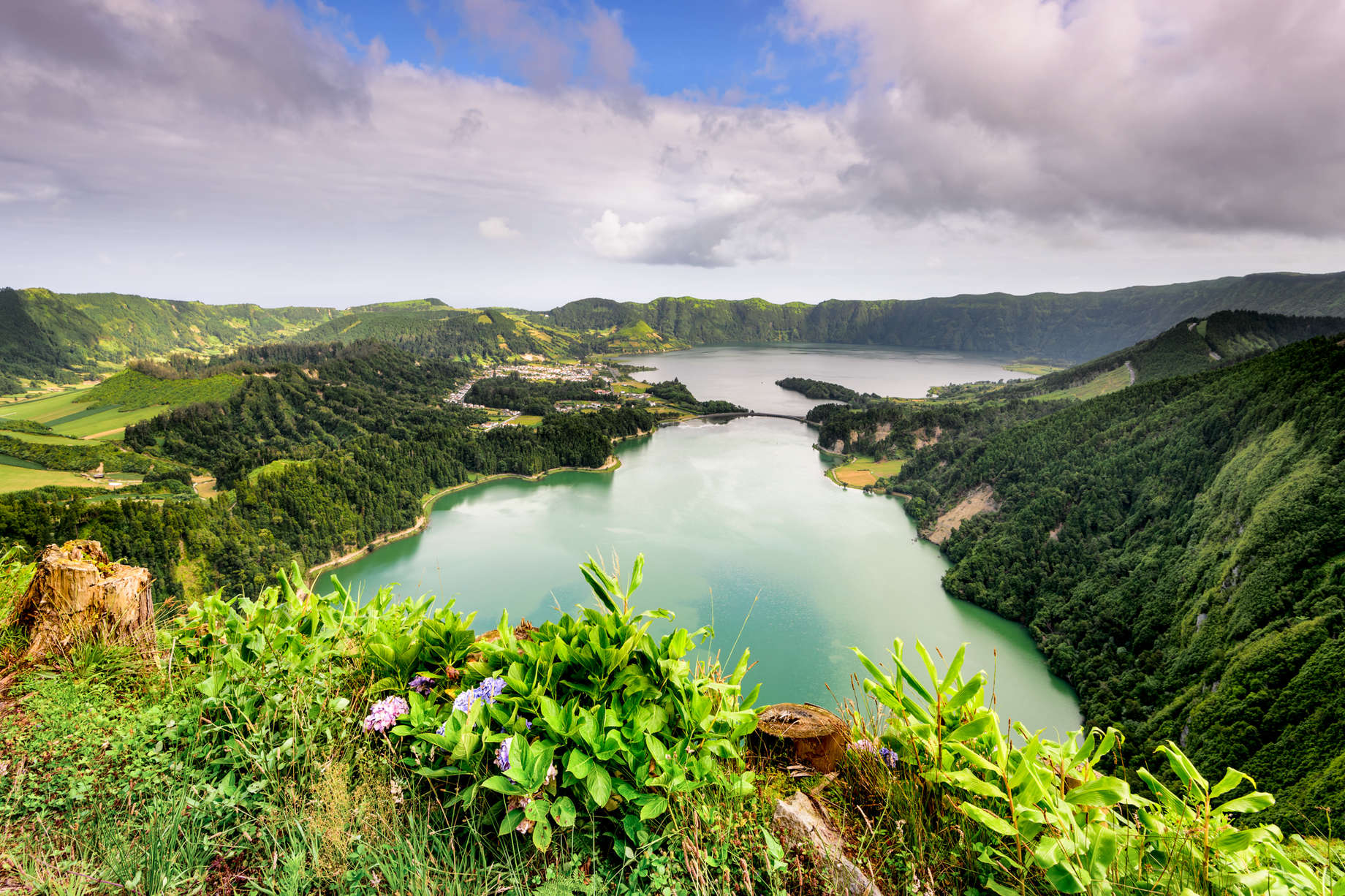 Sete Cidades, Azores, Portugal |   ARoxo/Moment/Getty Images