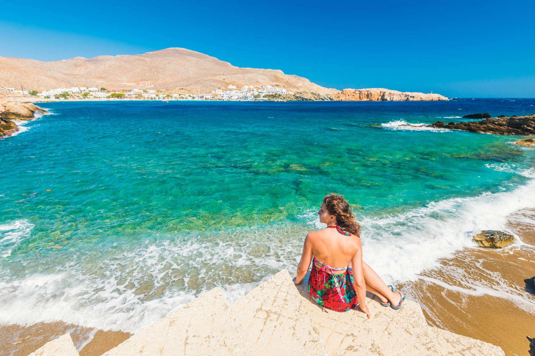 Folegandros, Cyclades Islands, Greece |   Manuel Breva Colmeiro/moment/getty images