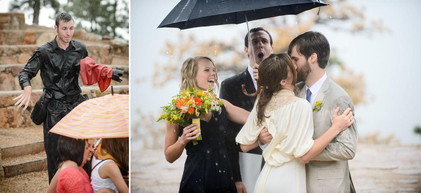 boulder Amphetheatre wedding