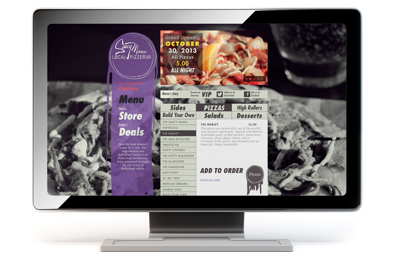 Website Design - Content Page