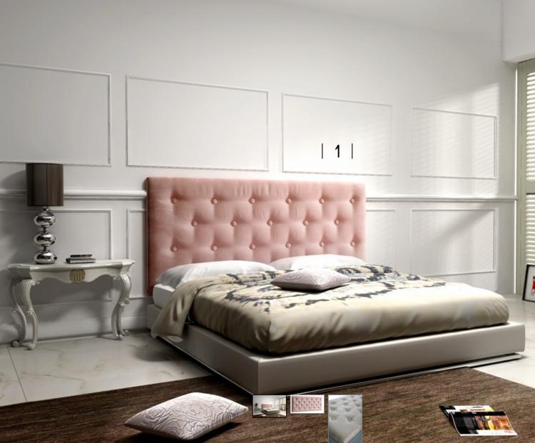 Pikowane łóżko Do Sypialni House Loves