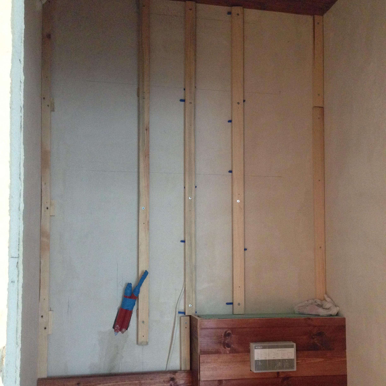 Jak Zrobić Drewnianą ścianę W łazience Diy House Loves