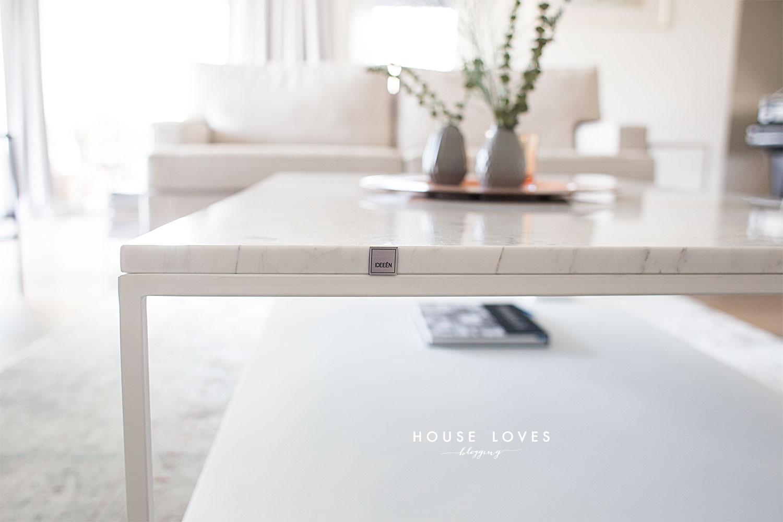 Marmurowy Stolik Kawowy do Salonu - Mój Wybór — HOUSE LOVES