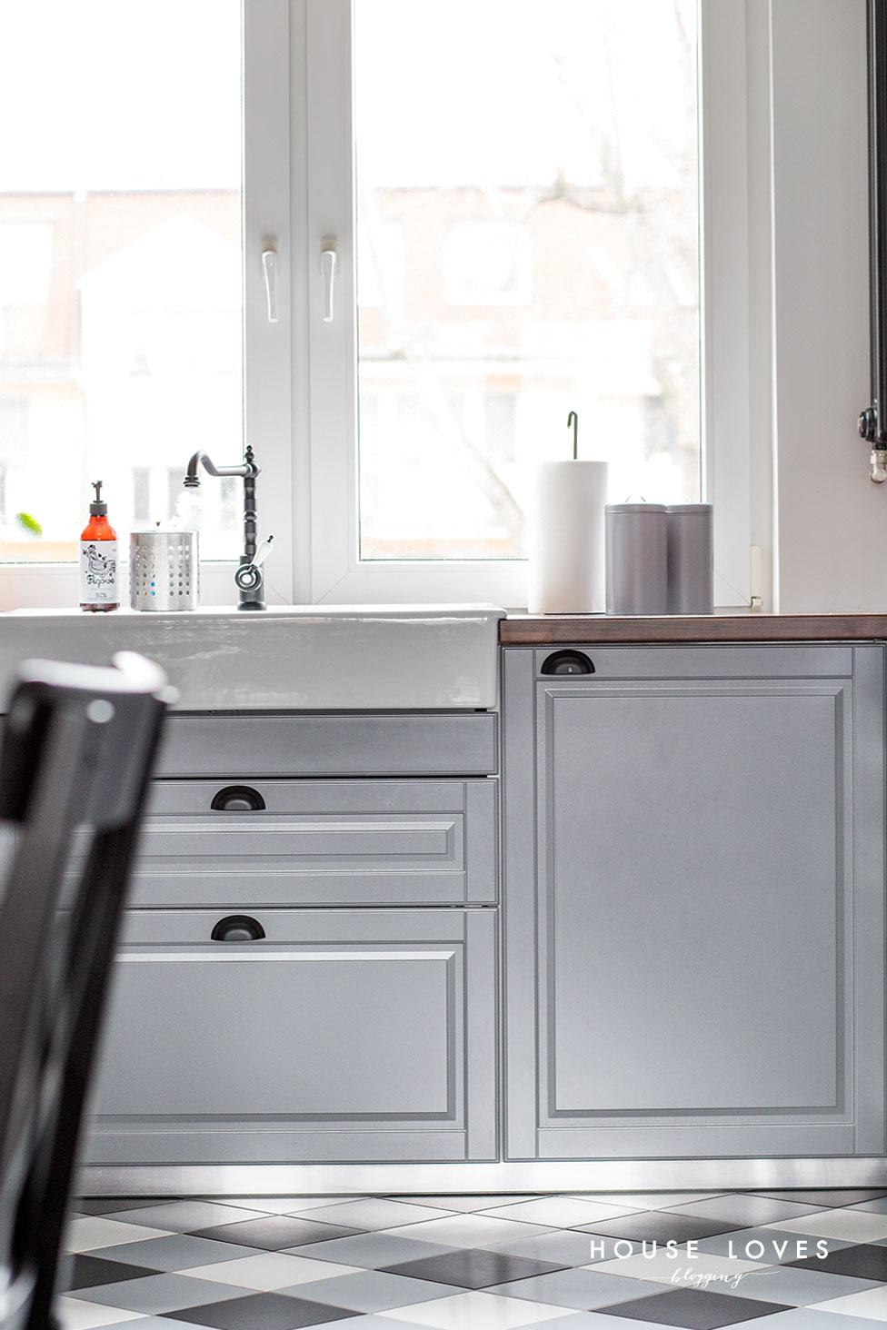 Projekt Kuchni Z Szarymi Frontami Ikea Bodbyn House Loves