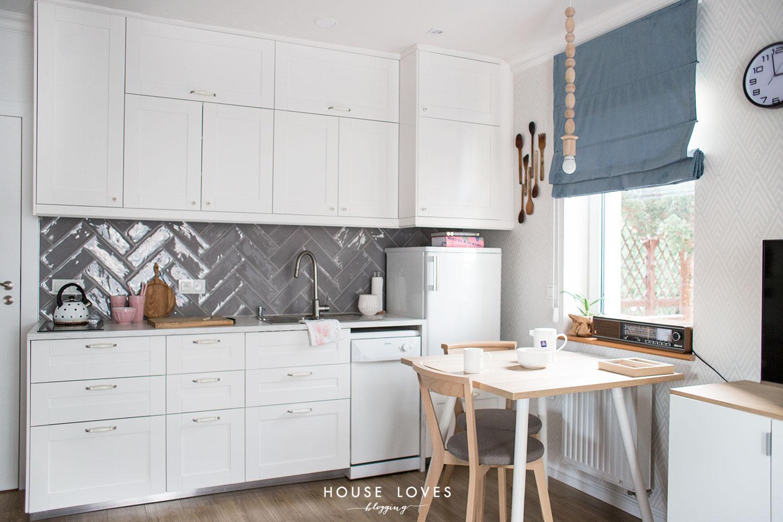 kuchnia IKEA - projekt kawalerki BABCI & DZIADKA