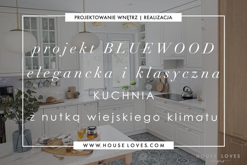Projekt Bluewood Elegancka I Klasyczna Kuchnia Z Nutką