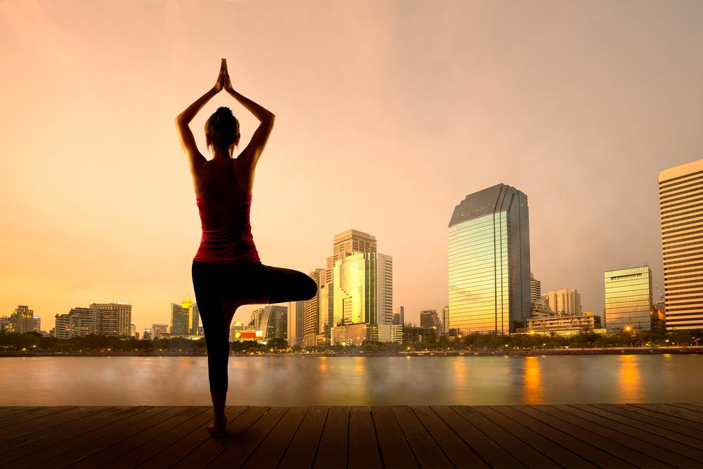 12 Days of Yoga (for Christmas!) Challenge Namaste