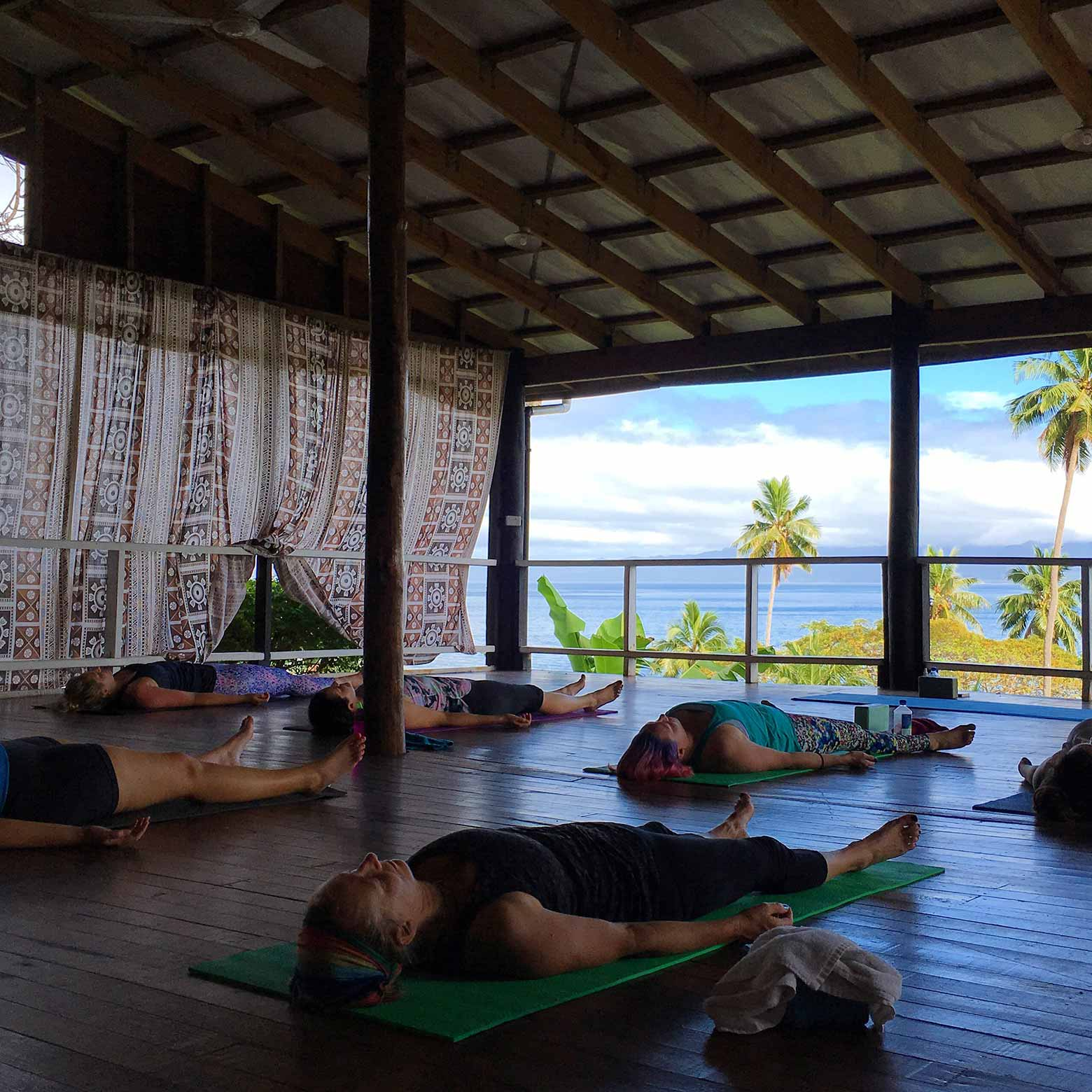 Yoga Corner Melbourne Fiji Retreat Daku Resort
