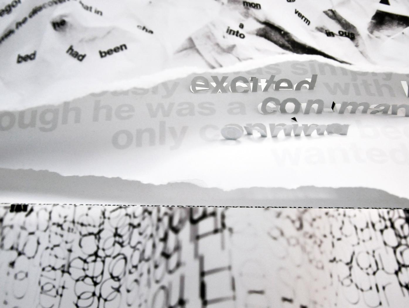 Mixed Messages    3-D Exhibition piece