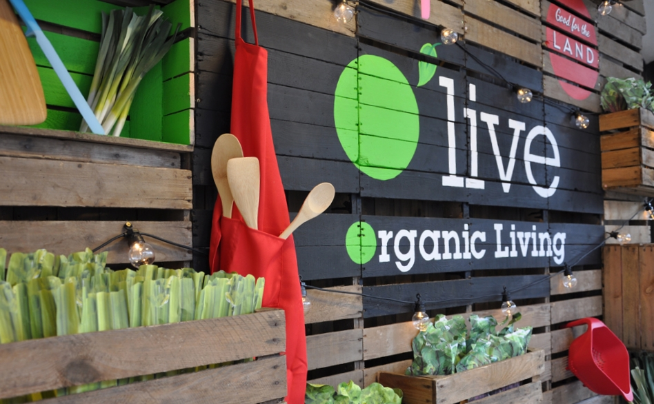 O'live    Design and installation of a window display for organic vegetable brand.