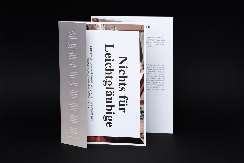Informationsbroschüre zum Theologiestudium