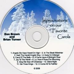 "Brian Turner & Don Brown       ""Improvisations On Our Favorite Carols"""