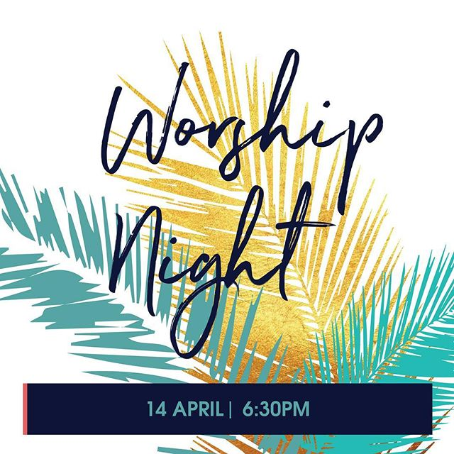 Join us this Sunday for a night of worship at 6:30pm. We'd love to see you! riversidevineyard.com/easter #PalmSunday #Easter #EasterAtRiverside