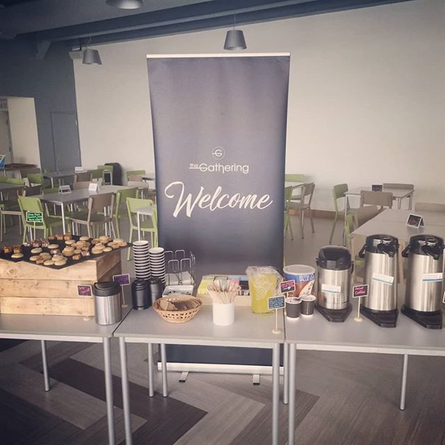 Looking forward to welcoming you back tonight for #thegathering Cafe opens 6.10. #creatingspaceformore