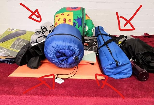 Recognise anything? We have a bunch of lost property from soul survivor, please come and collect from church 😁