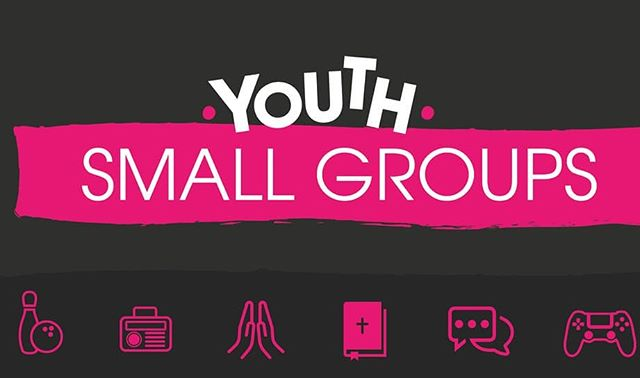 Youth small groups start back tonight. 7.30pm at Riverside 😁