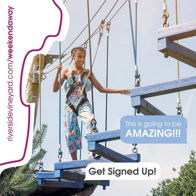 In school years 5-9? Get signed up for our weekend away it's going to be soooo good 😀🎉👍