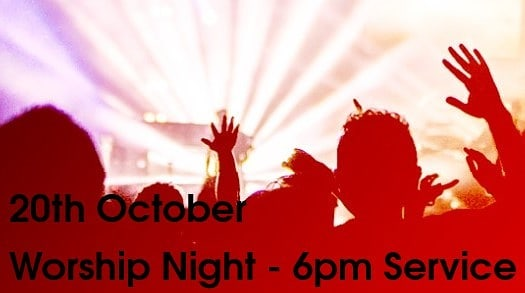 No youth small groups this Friday but come and join us on Sunday at 6pm for a great evening of worship, a bunch of our youth are in the band 😁