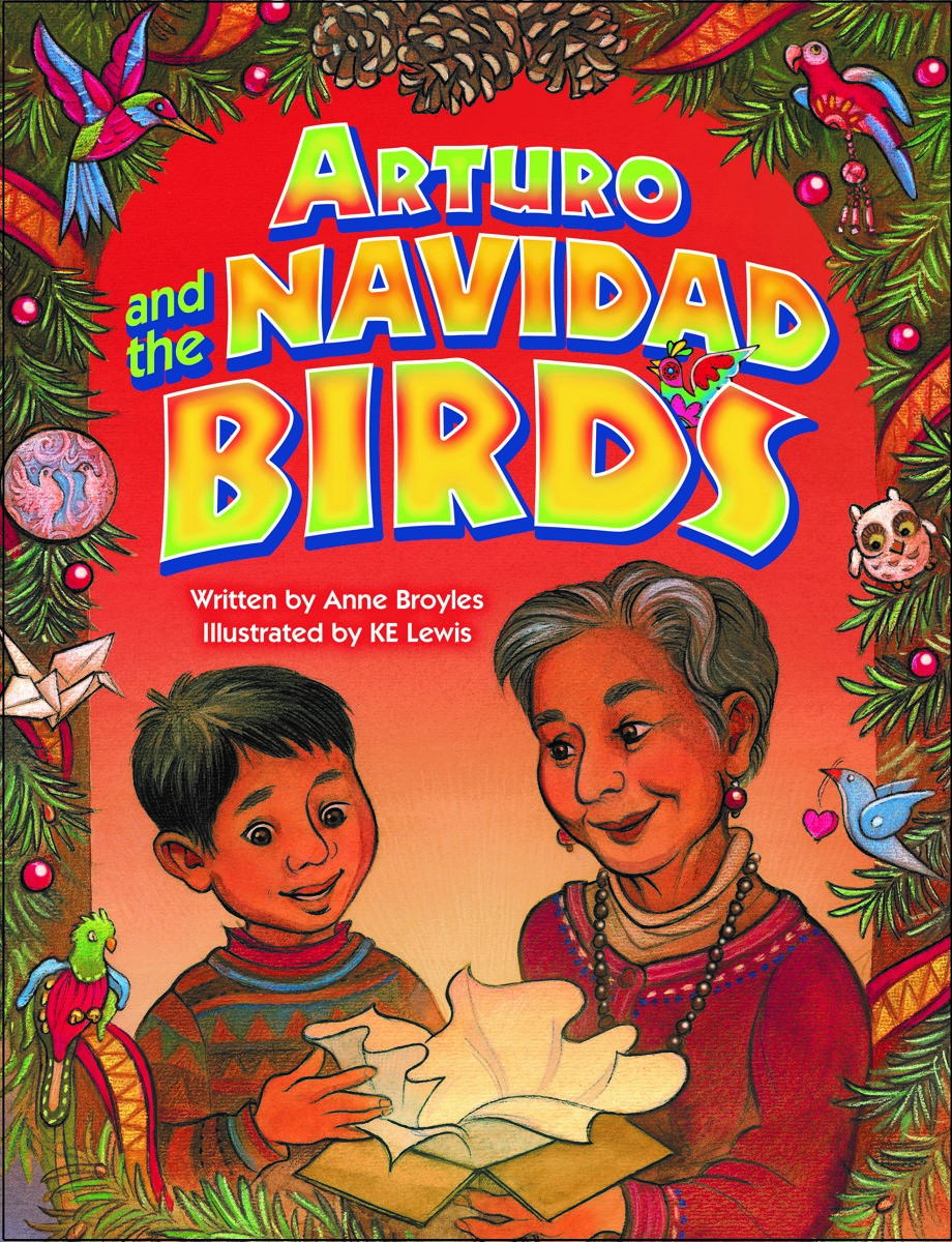 Just released! Sure to  become one of those we-read-it-every-year Christmas stories (illustrated by KE Lewis, Pelican)
