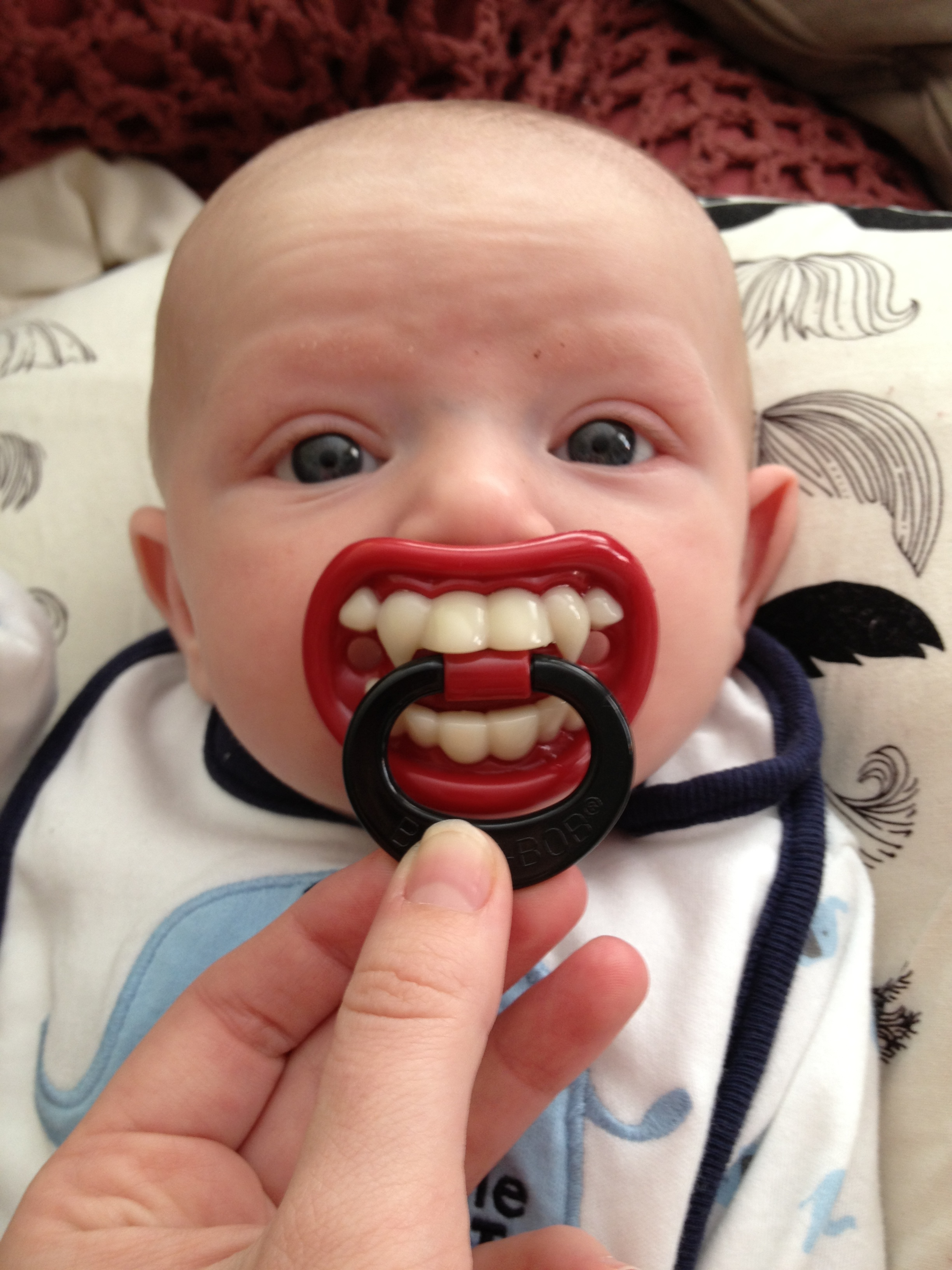 """1st Entry in the VAMPIRE BABY """" Books for your Library """" Contest!"""