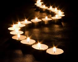 Imagine, each of these candles represents pages, chapters, novels . . .