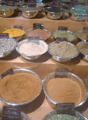 Sniffed spices and filched samples at  Grand Central Station Marketplace