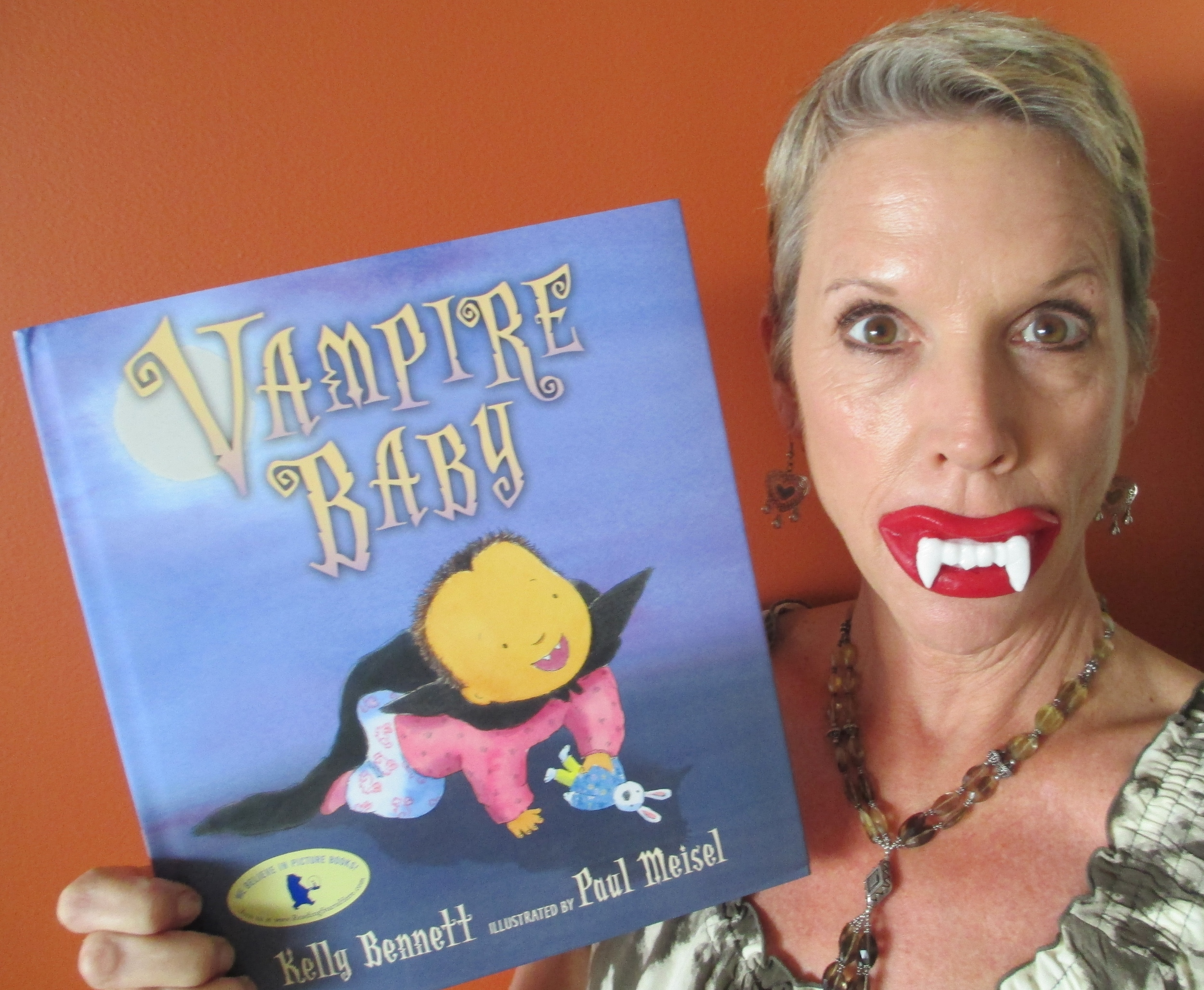 Who knows: I could go Vampire--I have the fangs for it!