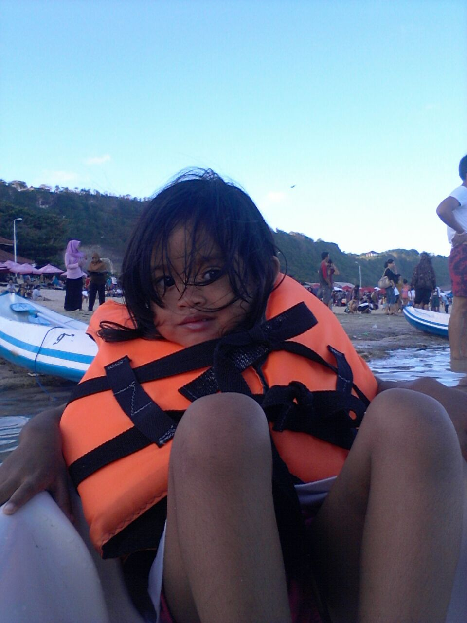 As I write, Rusnati's grandaughter, Key, is     in Bali on holiday with her folks!