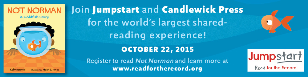 If you aren't registered yet, whatcha waiting for? Here's the link to  Jumpstart's    Read for the Record© 10-22-2015  :   http://conta.cc/1L97qpM